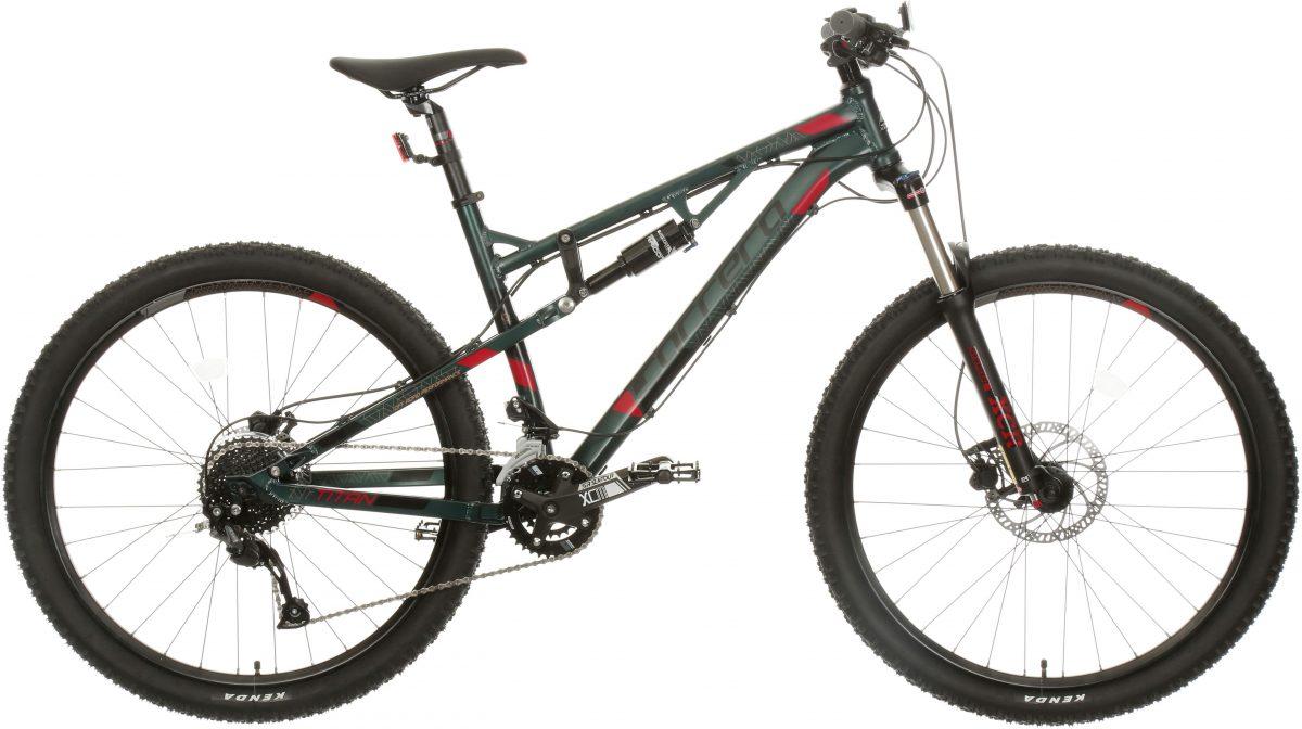 £650.00 Carrera Titan Mens Full Suspension Mountain Bike – S