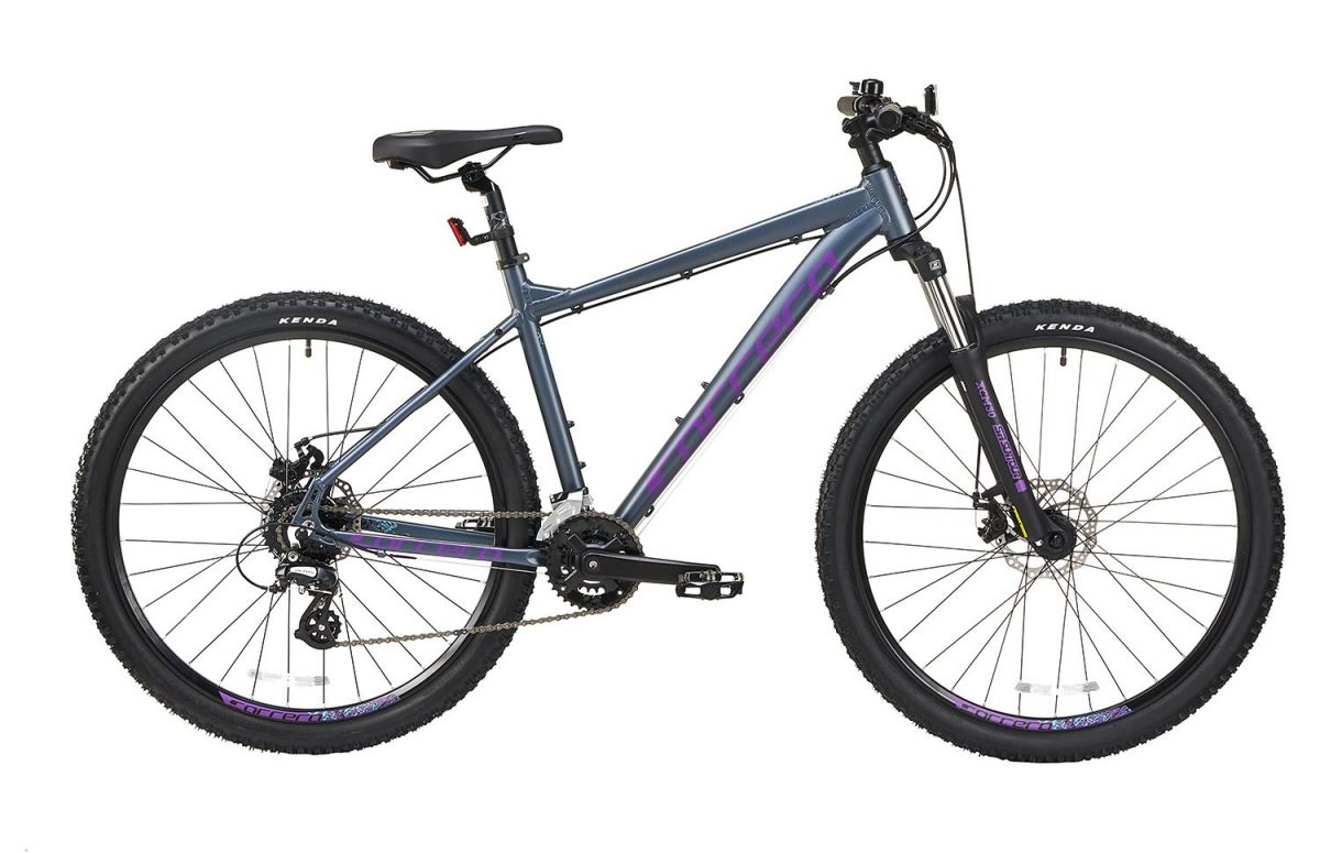 £325.00 Carrera Vengeance Womens Mountain Bike – Grey, Small