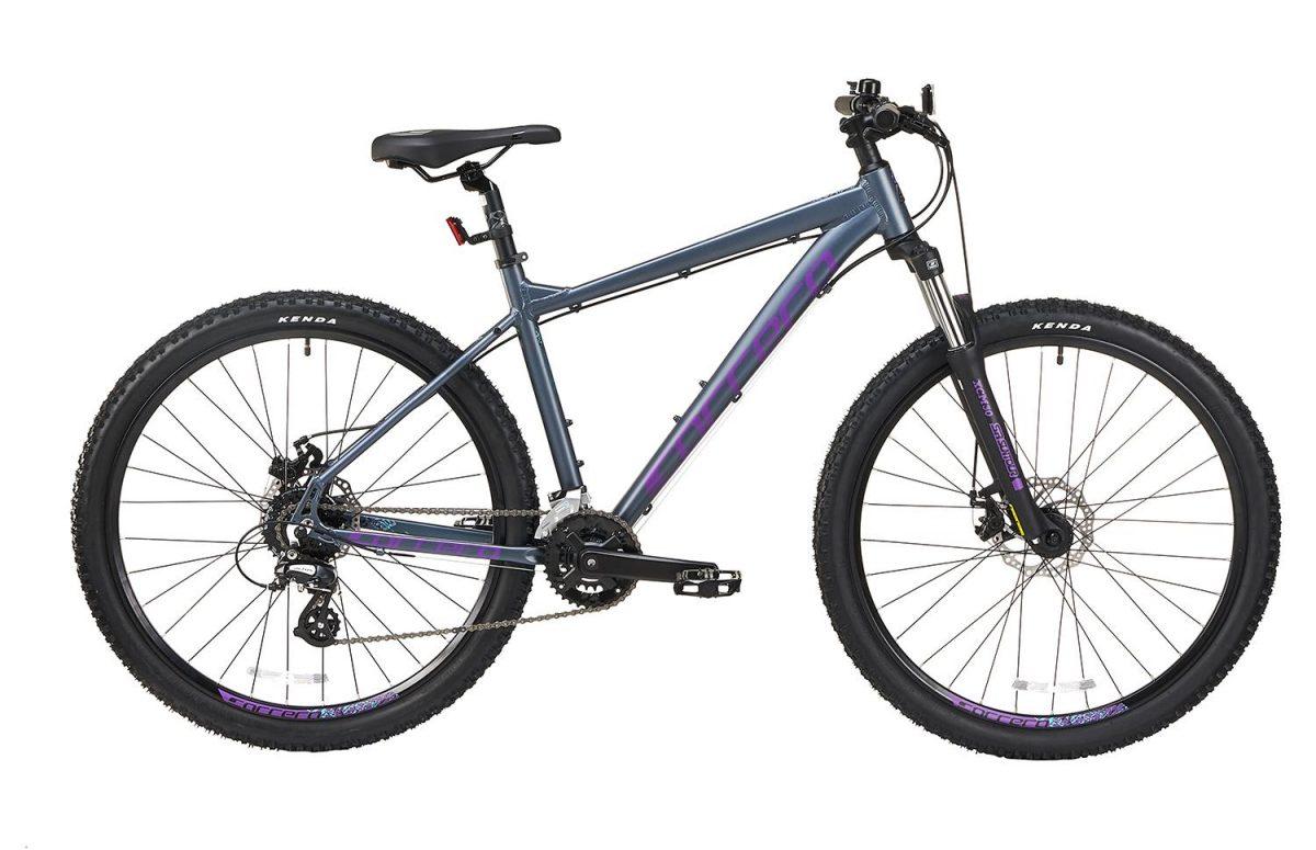 £350.00 Carrera Vengeance Womens Mountain Bike – Grey, Small