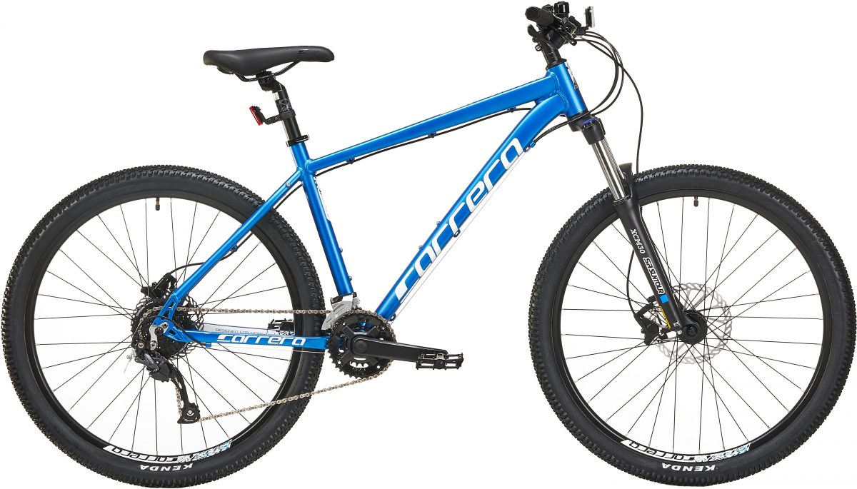 £375.00 Carrera Vulcan Mens Mountain Bike 2020 – Blue, X Large