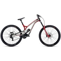 Commencal Supreme DH 29 Team Suspension Bike 2020 - Chalk Grey - Boxxer Red