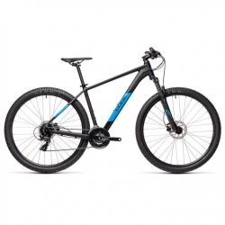 Cube Aim Pro 2021 Mountain Bike - Black Blue