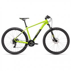 Cube Aim Pro 2021 Mountain Bike - Green Black