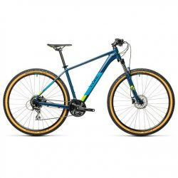 Cube Aim Race 2021 Mountain Bike - Blue Green