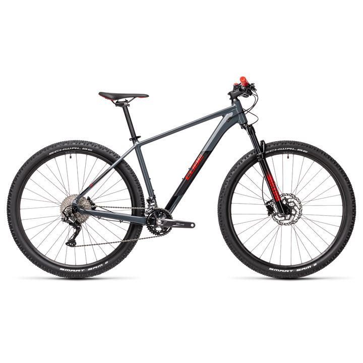 £800.00 – Cube Attention 2021 Mountain Bike – Grey MY21