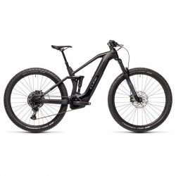 Cube Stereo 140 HPC Race 2021 Electric Mountain Bike - Black