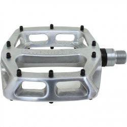 DMR V12 Flat Mountain Bike Pedals - Silver