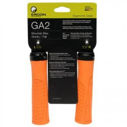 Ergon GA2 Ergonomic Mountain Bike Grips - Orange
