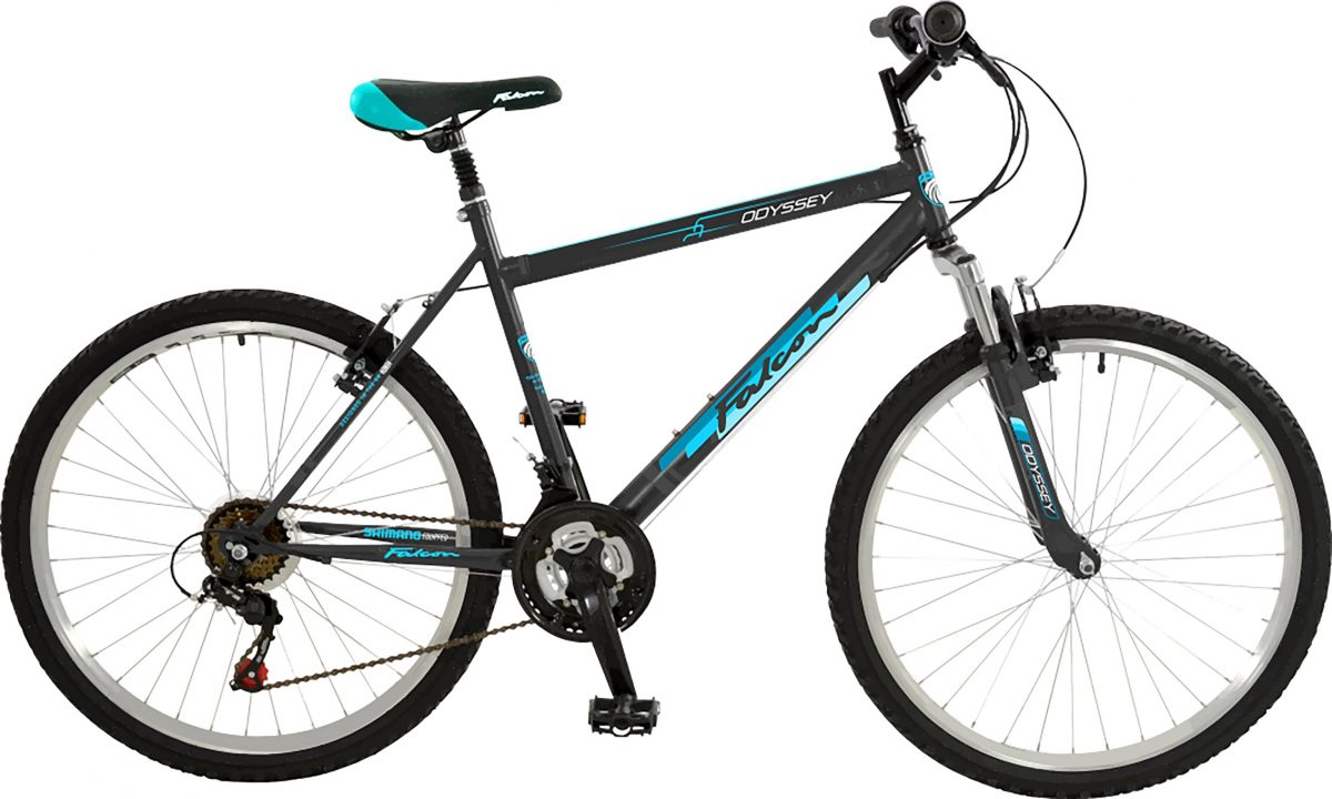 £189.99 Falcon Odyssey Mens 19 Inch Mountain Bike