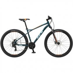 GT Aggressor Expert 2021 Mountain Bike - Slate Gray 23