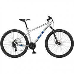 GT Aggressor Expert 2021 Mountain Bike - Silver 22
