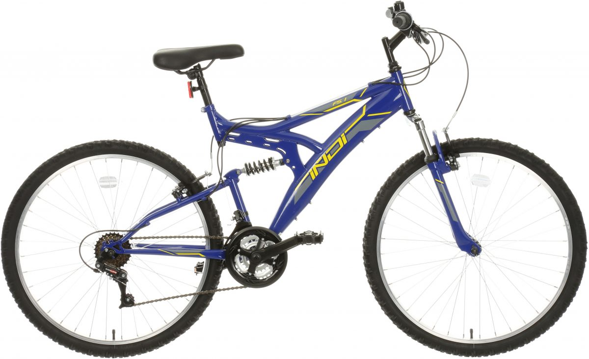 £120.00 Indi Fs 1 Mens Mountain Bike 18 Inch Frame