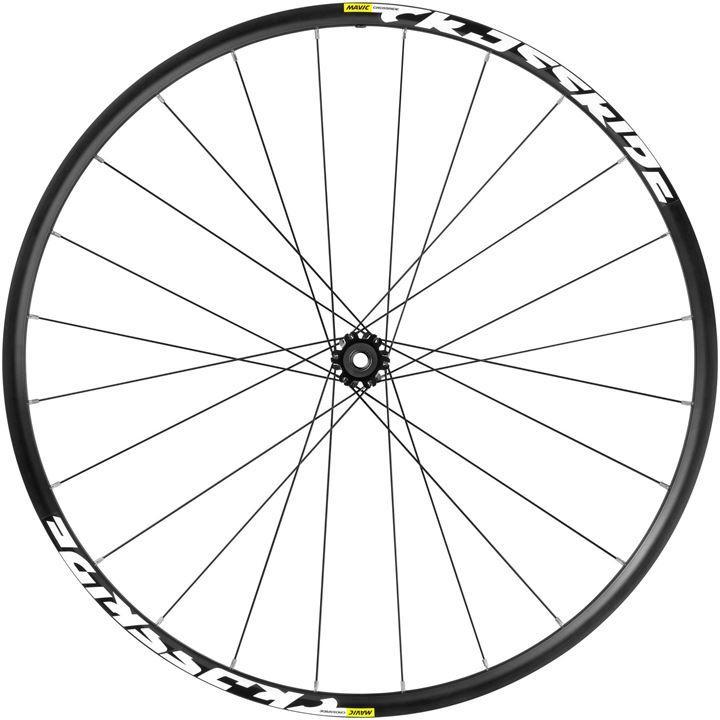 "Mavic Crossride FTS-X 6 Bolt 27.5"" Mountain Bike Front Wheel - Black"