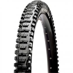 "Maxxis Minion DHR II 26"" Dual Compound EXO Protection Folding Tubeless Ready Mountain Bike Tyre - Black"