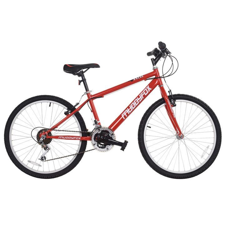 Muddyfox Excel 24 Mountain Bike Junior - Red