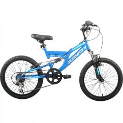 Muddyfox Recoil 20 Inch Kids Mountain Bike - Blue/White