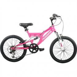 Muddyfox Recoil 20 Inch Girls Mountain Bike - Pink/White