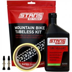 Stans No Tubes No Tubes Mountain Bike Tubeless Kit 35mm Valve - Black