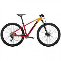 Trek Marlin 7 2021 Mountain Bike - Marigold/Red 22