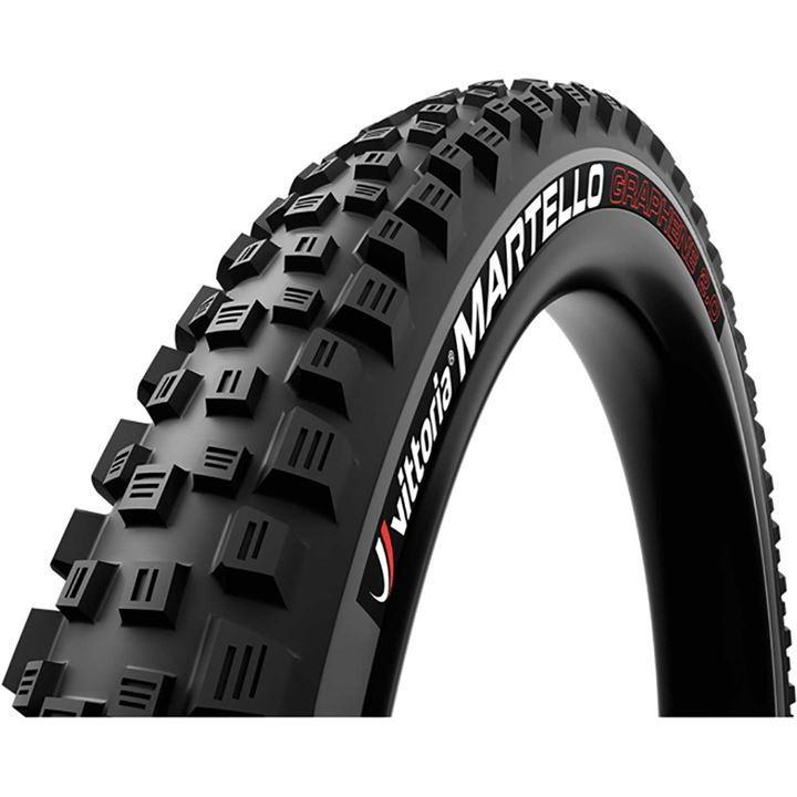 Vittoria Martello TLR G2.0 27.5 Folding Tubeless Ready Mountain Bike Tyre - Black