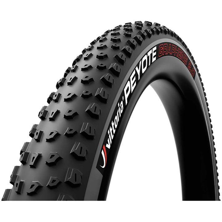 Vittoria Peyote TNT G2.0 27.5 Folding Tubeless Ready Mountain Bike Tyre - Black/Grey
