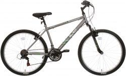 Apollo Slant Mens Mountain Bike - Grey - 21 Speed - L