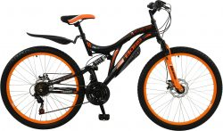 Boss Black Ice Mens 18 Inch Mountain Bike