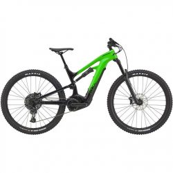 Cannondale Moterra 3 + 2021 Electric Mountain Bike - Green