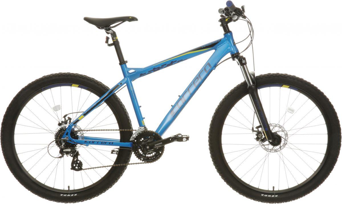 £340.00 Carrera Vengeance Mens Mountain Bike – Blue, X Large