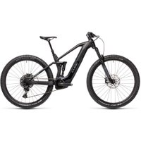 Cube Stereo Hybrid 140 HPC Race 625 E-Bike (2021)   Electric Mountain Bikes