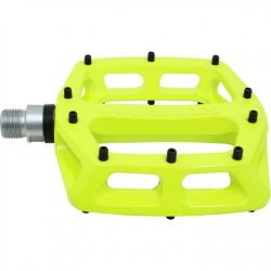 DMR V12 Flat Mountain Bike Pedals - Green