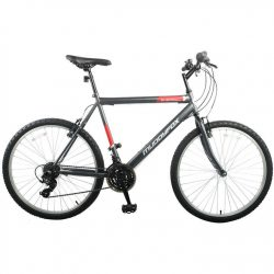 Muddyfox Energy 26 Inch Mountain Bike - Grey/Red