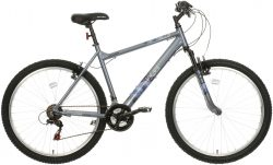 Apollo Jewel Womens Mountain Bike - Silver/Blue - 17 Inch