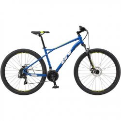 GT Aggressor Sport 2021 Mountain Bike - Blue 22