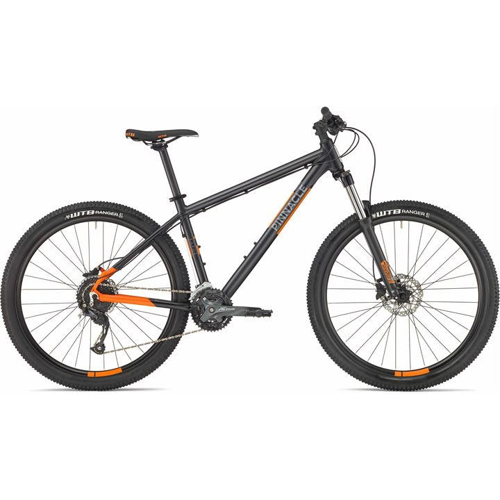 £515.00 – Pinnacle Kapur 2 2020 Mountain Bike – Black/Orange