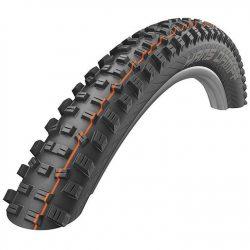 Schwalbe Hans Dampf Addix Soft Snakeskin Folding 29 x 2.35 Tubeless Mountain Bike Tyre - Black