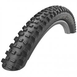 Schwalbe Hans Dampf Performance Dual Compound Folding 27.5 x 2.35 Tubeless Mountain Bike Tyre - Black