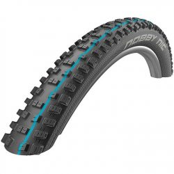 Schwalbe Nobby Nic Addix Speed Grip Snakeskin Folding 27.5 x 2.35 Tubeless Mountain Bike Tyre - Black