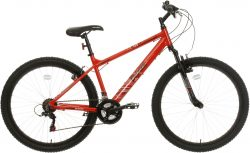Apollo Phaze Mens Mountain Bike - Red - 17 Inch