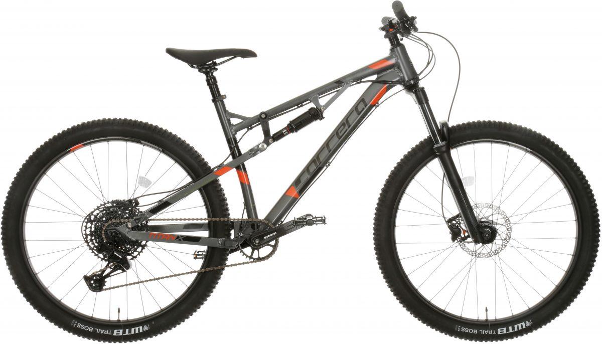£925.00 Carrera Titan X Mens Full Suspension Mountain Bike – M
