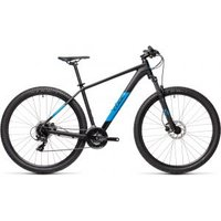 £549.00 – Cube Aim Pro Hardtail Mountain Bike – 2021, Black/blue