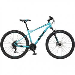 GT Aggressor Comp 2021 Mountain Bike - Blue 22