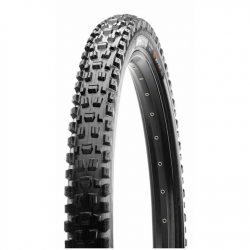 Maxxis Assegai 27.5 x 2.5 Wide Trail Maxx Grip TR Folding Mountain Bike Tyre - Black