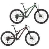 Specialized Stumpjumper Comp Alloy Mountain Bike 2021 S2 - Gloss Sage Green/Forest Green