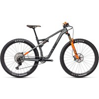 Cube AMS 100 C:68 TM 29 Suspension Bike 2021 - FlashGrey - Orange