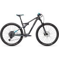 Cube AMS 100 C:68 Race Suspension Bike 2021 - Carbon - Blue