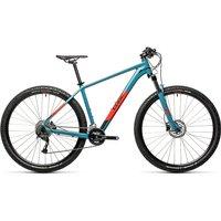 "Cube Aim Ex Hardtail Bike 2021 - Blue - Red - 48cm (19"")"