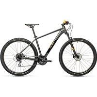 """Cube Aim Race 29 Hardtail Bike 2021 - Grey - Orange - 48cm (19"""")"""