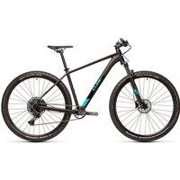 "Cube Analog 29 Hardtail Bike 2021 - Black - Petrol - 53cm (21"")"