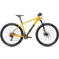"Cube Attention Hardtail Bike 2021 - Amber - Black - 48cm (19"")"